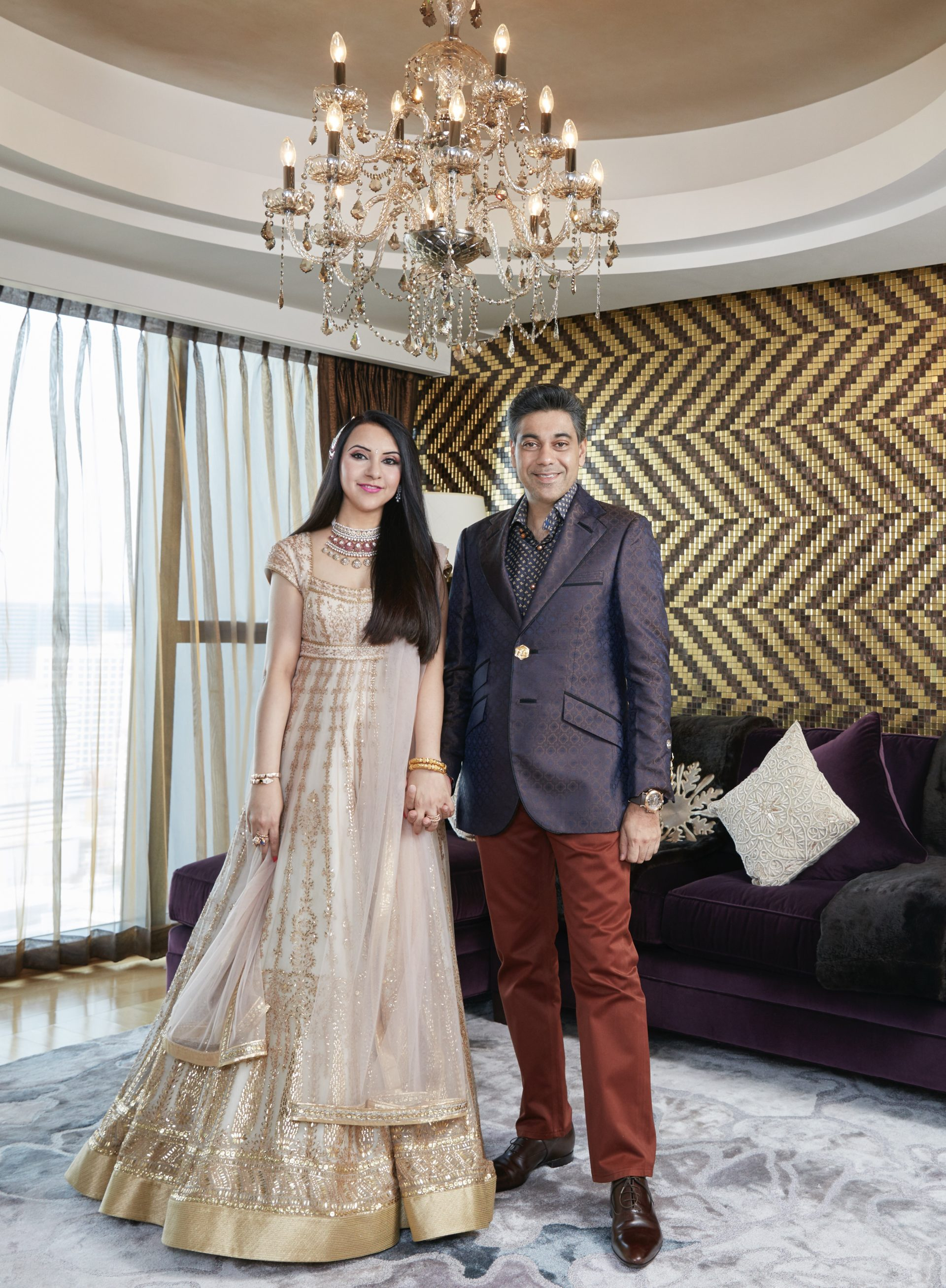 Deepak and Anita Ohri In Interior Special Of Hello India .